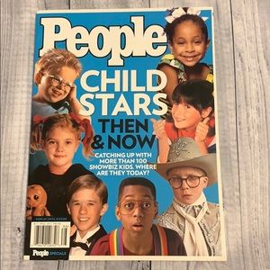 People  Magazine Special Child Stars Then and Now